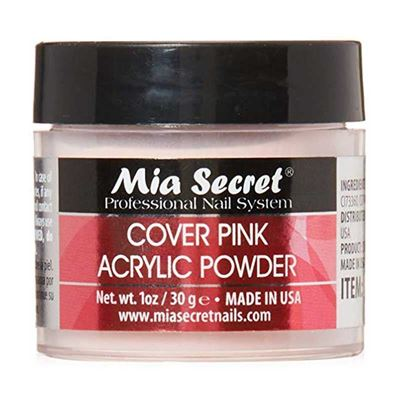 Picture of Mia Secret Cover Pink Acrylic Powder 2 Ounce