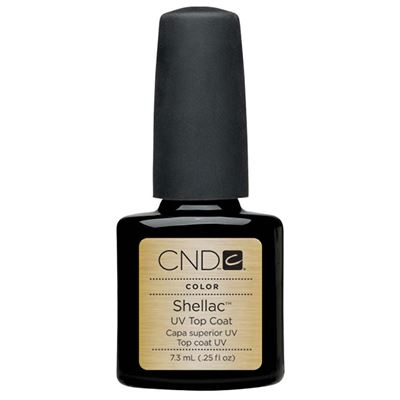 Picture of CND Shellac Top Coat - 0.25 oz (7.39 ml)