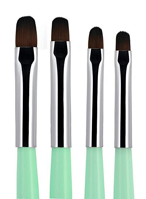 Picture of Beaute Galleria 4pcs UV Gel PolyGel Nail Brush