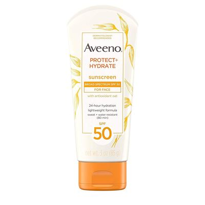 Picture of Aveeno Protect + Hydrate Face Moisturizing Sunscreen Lotion