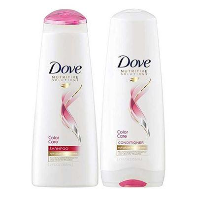 Picture of Dove Color Care Shampoo & Conditioner 12oz Combo SET