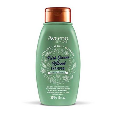 Picture of Aveeno Scalp Soothing Fresh Greens Blend Shampoo for Volume