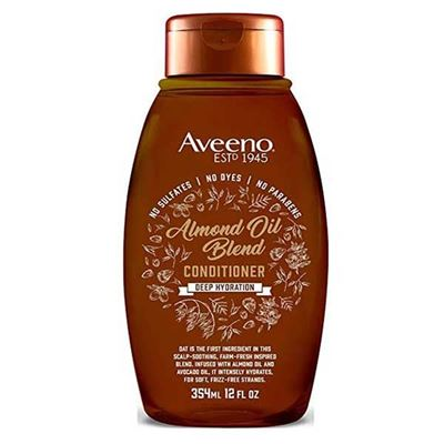 Picture of Aveeno Conditioner Almond Oil Blend 12 Ounce