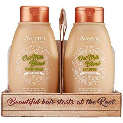 Picture of Aveeno Scalp Soothing Oat Milk Blend Shampoo and Conditioner